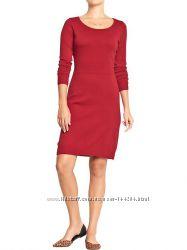 Платье трикотажное красное Old Navy