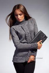 Шикарный теплый свитерок