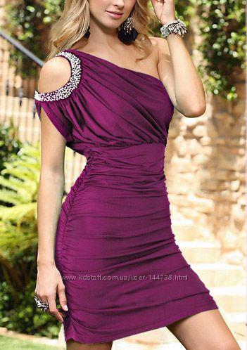 Красивые платья на одно плече