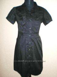 100 процентный  котон - Черное платье  р. М - США 85y. e Распродажа