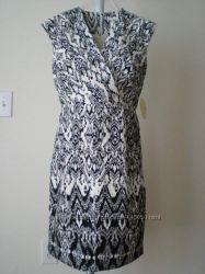 Дорогое Черно-белое платье Ronni Nicole США 110y. e р. М-L  Распродажа