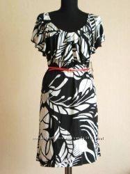 Платье Летнее Трикотажное с красным лаковым поясом USA 110y. e Распродажа