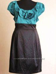 Очень красивое - Дорогое платье из шелковистой ткани США 120y. e Распродажа