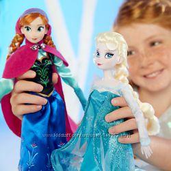 Принцессы Эльза, Анна и Кристофф из мультфильма Холодное сердце
