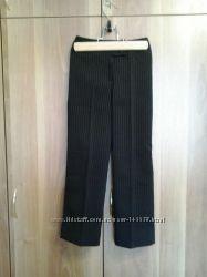 Школьные чёрные брюки на девочку 122 рост