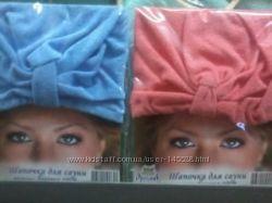Банные сарафаны и шапочки для женщин