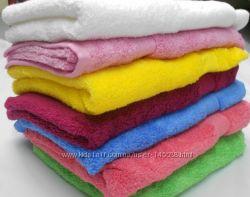 Махровые полотенца  Софт-твист мягкие и яркие