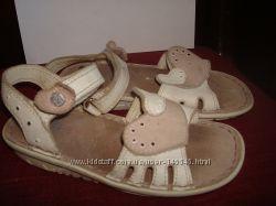 Кожаные сандалии босоножки elefanten р. 27, по стельке 17, 5 см