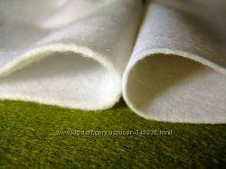 Фетр белый, синтетический