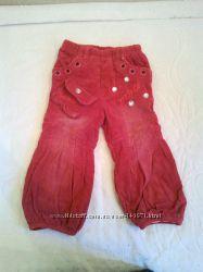 Утепленные джинсы Welmazai для девочки 1, 5-2 годика