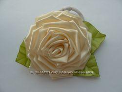 Резинка для волос Роза