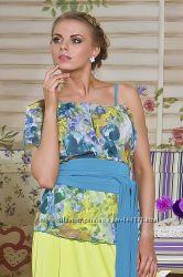 В наличии красивая и оригинальная блуза р. М