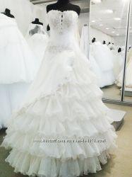 Свадебное платье в стиле Кармен
