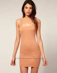 Коралловое платье ASOS в наличии