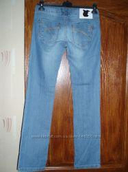 джинсы летние голубые