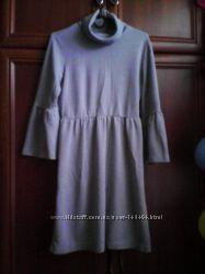 Платье серого цвета для беременных