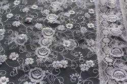 Платки свадебные фатин