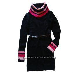 Красивое вязаное платье на 10-12 и 14-16 лет