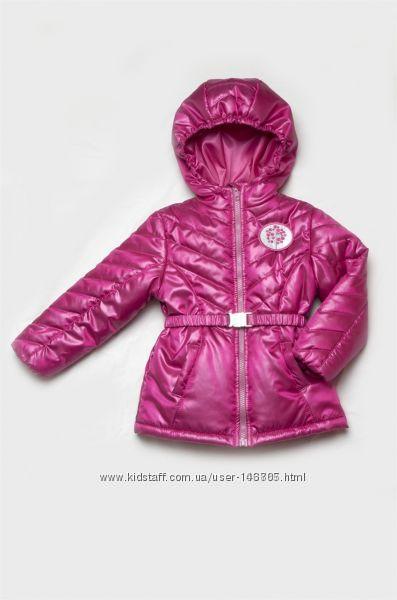 Яркая демисезонная курточка для модняшки р92