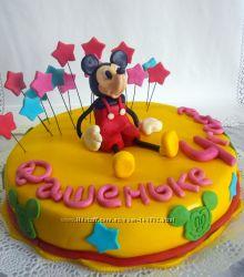 торт  Пеппа ,  Микки,  Лунтик торты по Вашим фото. Вся Украина