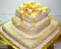 Праздничные и юбилейные торты  от  3кг