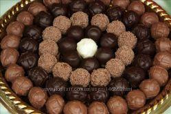 Все из натур. шоколада брауни, мафины, трюфели, пирожные, конфеты, торты
