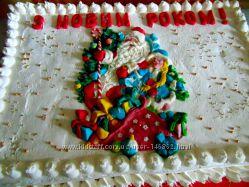 Новые торты на зимнюю тематику
