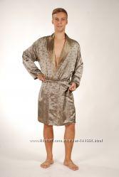 шелковые халаты  турция для мужчин
