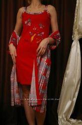 Женские    халат с рубашкойТурция JENNI