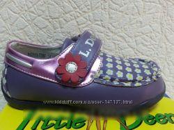 Кожаные туфли мокасины BG Little deer 22-23р. в наличии