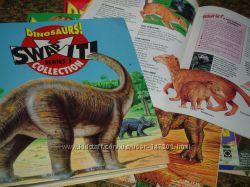 Динозавры журналы, карточки