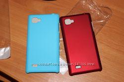 Новые чехлы пластмасса 2 шт LG P880
