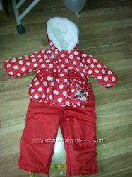 зимний термо костюм для девочки Disney состояние нового