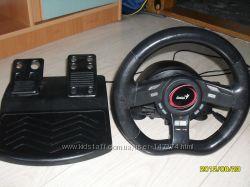 игровая приставка руль с педалями
