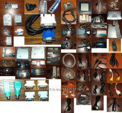 кабеля, блоки питания, разное железо для ПК ФОТО