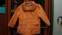 Куртка - ветровка, плащик  для девочки