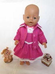 Комплект - сарафан и куртка для пупса Baby Born