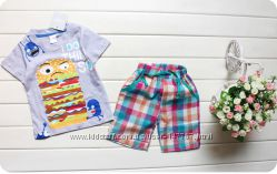 Летний комплект футболка и шорты