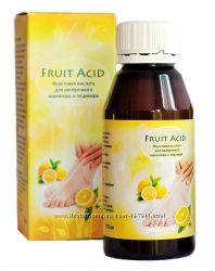 Fruit Acid- фруктовая кислота для необрезного маникюра и педикюра.