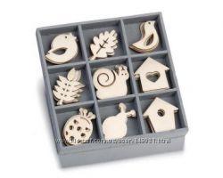 Наборы для творчества, деревянные заготовки