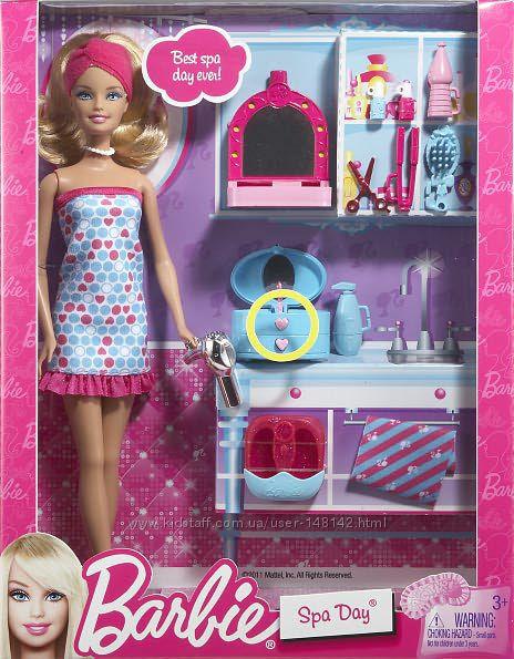 Barbie абор Барби В СПА салоне  BARBIE SPA DAY Set Оригинал из Америки 11.