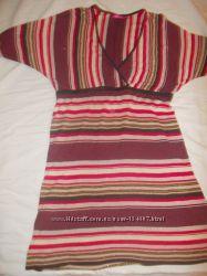 Нарядное короткое платье для беременных и не только