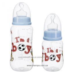Бутылочки BiBi, Im a boy, антиколиковая, для мальчиков, в наличии
