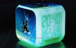 Будильник, часы, термометр, календарь Minecraft