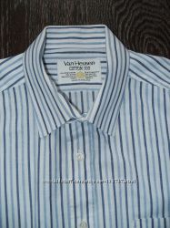 2 Фирменных рубашки Van Heusen Англия Banana Republic Гонконг Р. М L