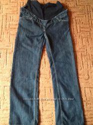 Классические джинсы для беременной в отличном состоянии