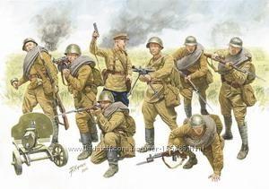 Солдатики 1х35 - наборы солдатиков фирмы ЗВЕЗДА