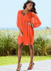 Платье BonPrix кремового цвета 44-46 размер
