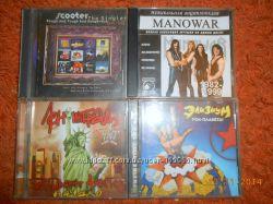 Студийные аудио диски с рок музыкой