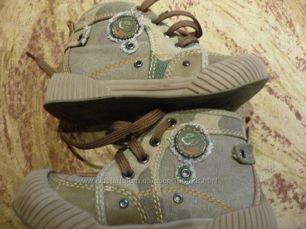 Демисезонные ботинки 24-27 размер
